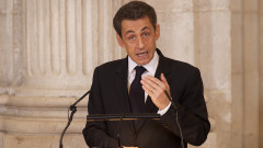 Nicolas Sarkozy  Honoured with the 'Toison de Oro' at The Royal Palace in Madrid