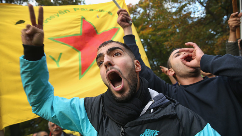 Kurds Protest For Kobane