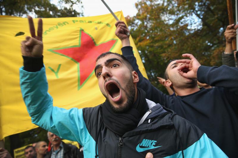 Kurds Protest For Kobane