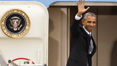 President Obama Departs After Meeting European Leaders
