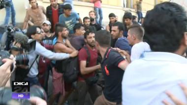 Imbranceli imigranti, gara Keleti Budapesta, Ungaria_digi24_2 septembrie 2015 (2)