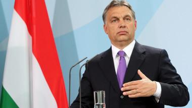 Chancellor Angela Merkel Meets With Hungarian Prime Minister Viktor Orban
