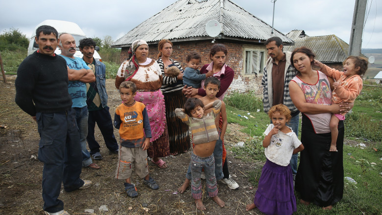 Roma Communities Struggle Against Abject Poverty