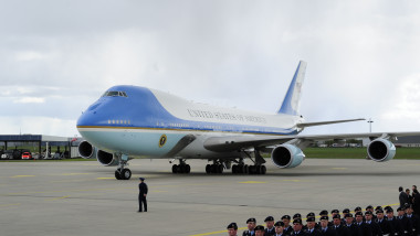U.S. President Obama Arrives In Hanover