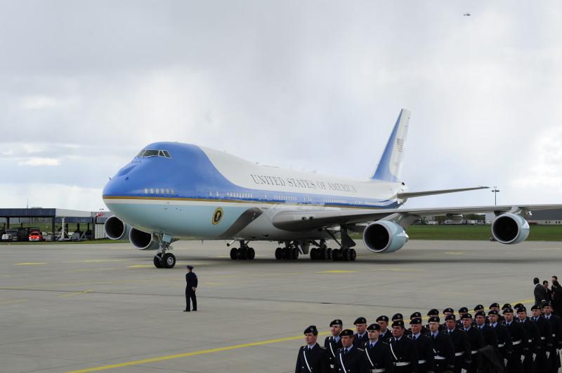 U.S. President Obama Arrives In Hanover