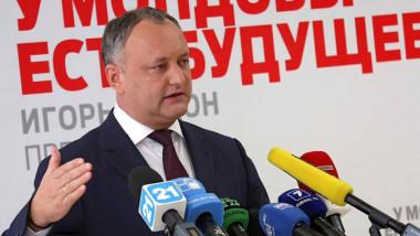 Igor Dodon vrea ca limba rusă să redevină obligatorie