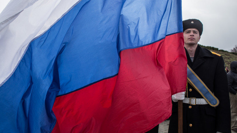 First Anniversary Of The Referendum Which Annexed The Crimea To Russia
