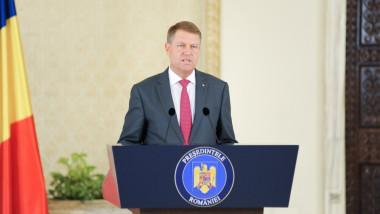 klaus iohannis declaratie cotroceni presidency