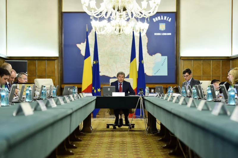 guvern ciolos sedinta - gov.ro