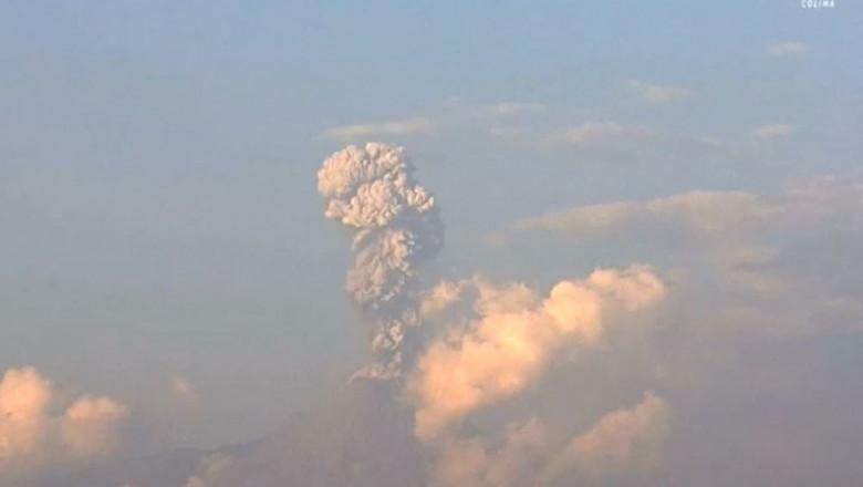 vulcan eruptie mexic