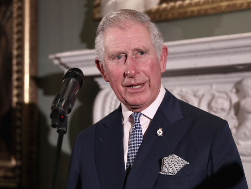 The Prince Of Wales Attends The 'Style For Soldiers' Christmas Reunion Party