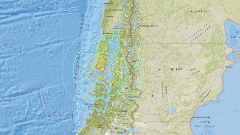 cutremur 7,7 chile