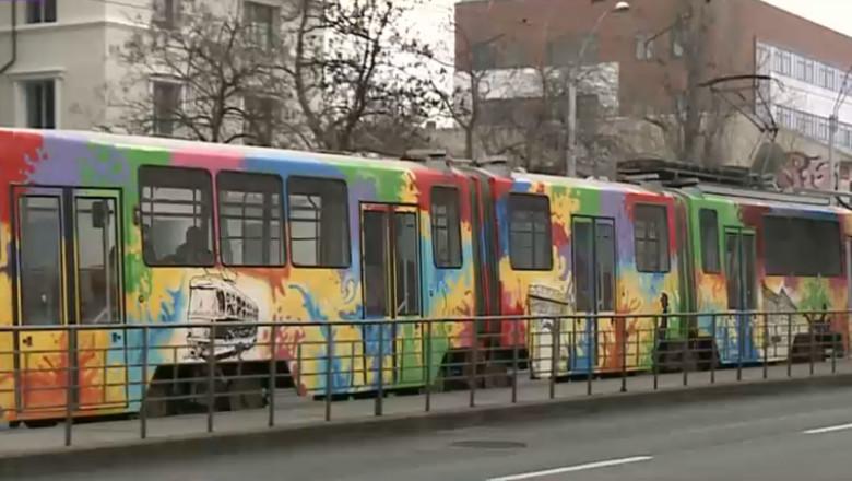 tramvai graffiti