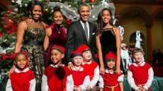 "Obama Family Attends ""Christmas In Washington"" Performance"