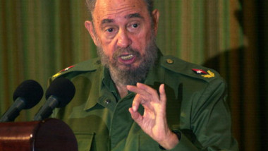 Fidel Castro Speaks In Santa Clara