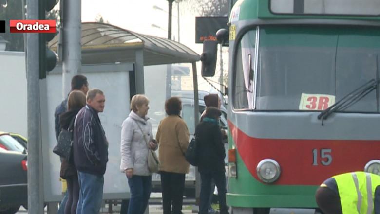 VO linie tramvai