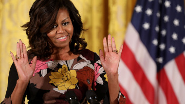 Michelle Obama Addresses White House's Veterans Homelessness Summit