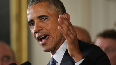 Fostul președinte al SUA Barack Obama.