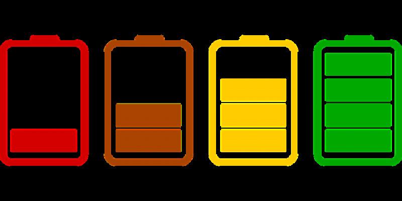 pixabay baterii telefon
