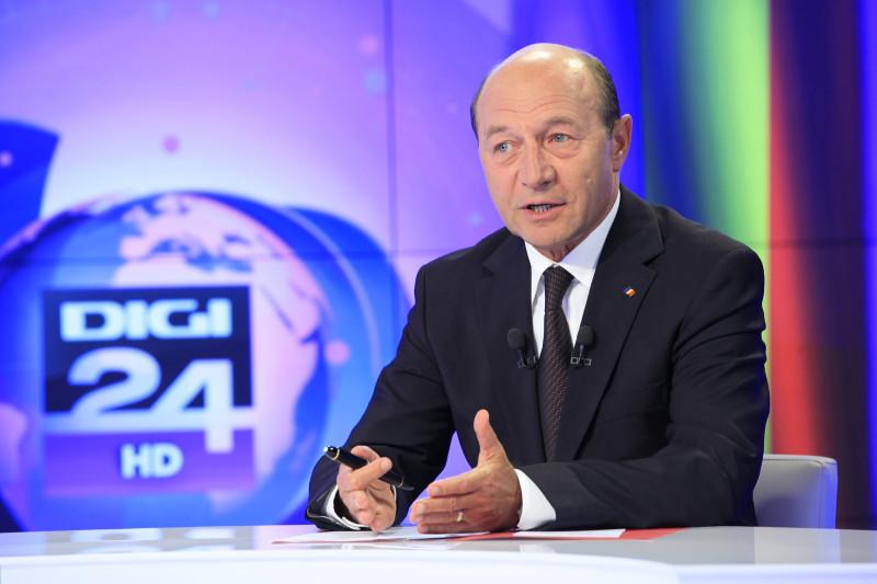 Traian Basescu la Digi24 (3)