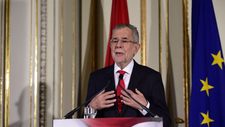 Alexander van der Bellen Speaks Following Election Confirmation