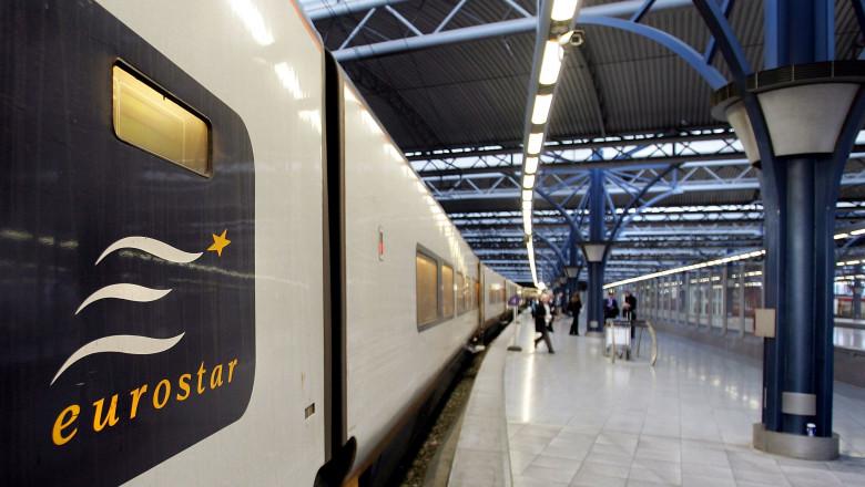 Eurostar in Brussels Midi Station