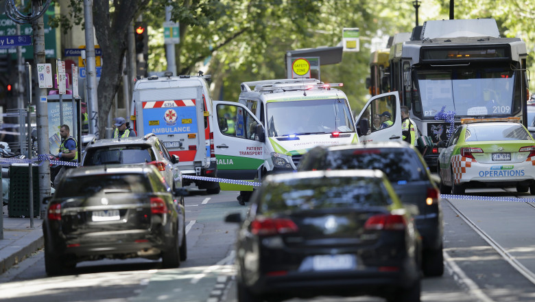 Pedestrians Killed After Car Ploughs Through Mall In Melbourne CBD
