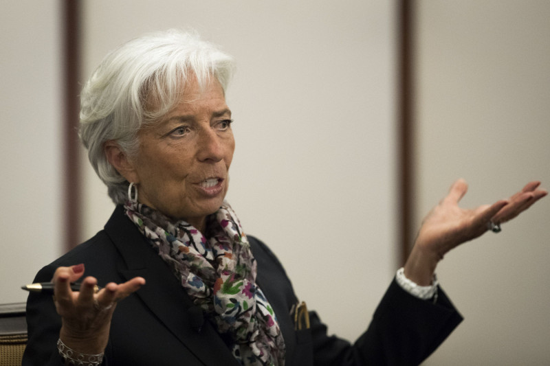 IMF Managing Director Christine Lagarde Speaks At The Federal Reserve Of New York