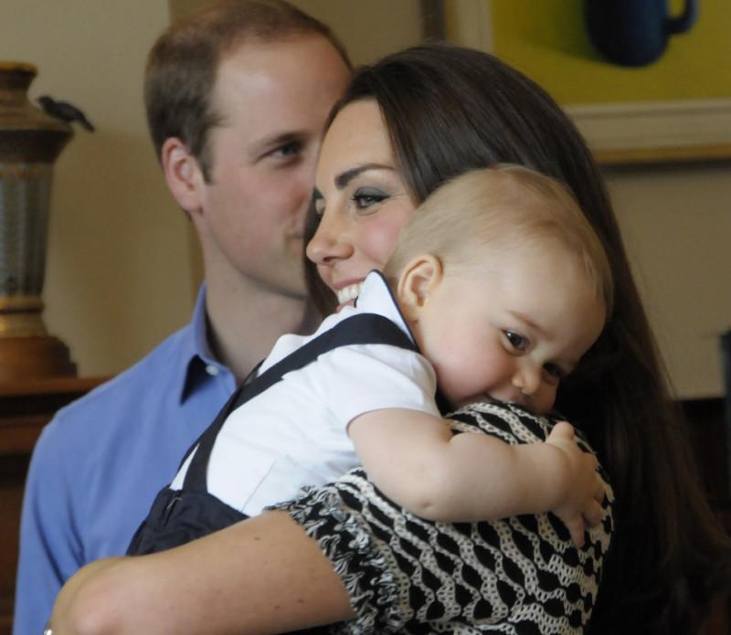 Printul William, ducesa de Cambridge si printul George - Guliver GettyImages