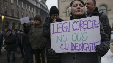 90.000 de oameni au protestat în toată țara duminică față de cele două proiecte. Foto: Inquam/ Octav Ganea
