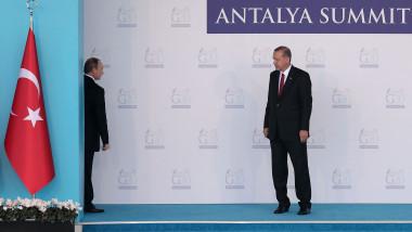 Vladimir Putin şi Recep Erdogan