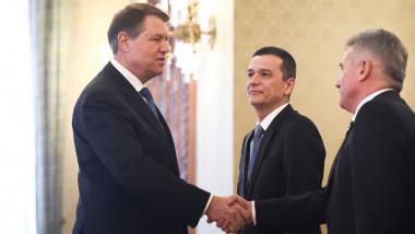 iohannis grindeanu stefan - presidency