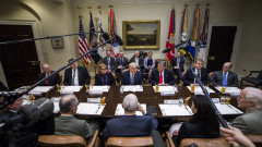 Trump Meets With Senators Over Gorsuch Nomination