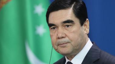 Turkmenistan President Berdymukhamedov Meets Angela Merkel
