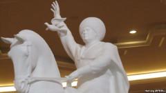 statuie berdimuhamedov - europa libera