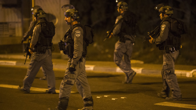 Police Attend A Suspected Terror Attack In Israel