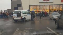 pirotehnisti evacuare mall Galati 110217