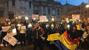Protest Roma Bernard Gabriel 120217