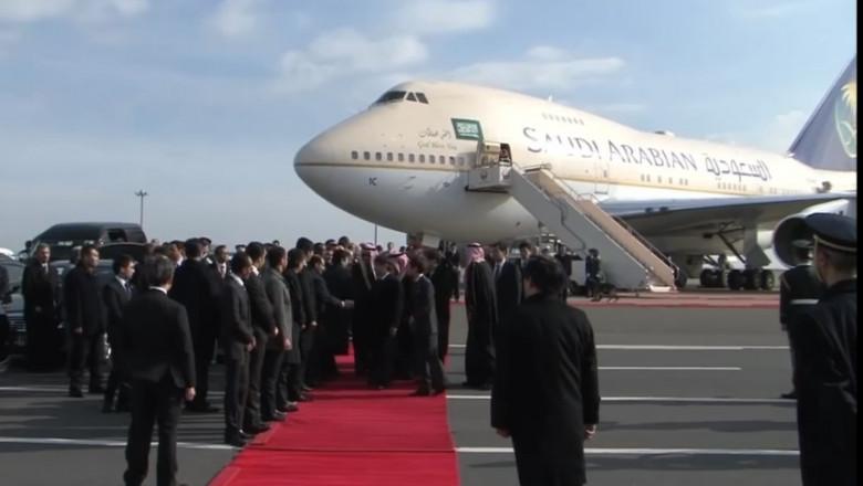 avion regal saudit