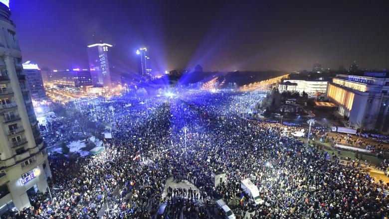 foto piata victoriei proteste agerpres_9491734