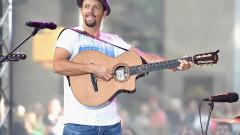 """Jason Mraz Performs On NBC's """"Today"""""""