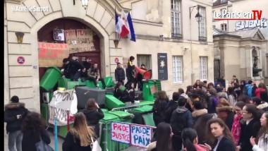 proteste paris liceeni