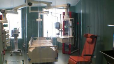 sectie ATI spitalul de arsuri