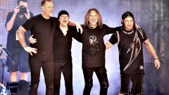 Metallica perform onstage at CBS RADIO's third annual 'The Night Before' at AT&T Park Presented by Salesforce