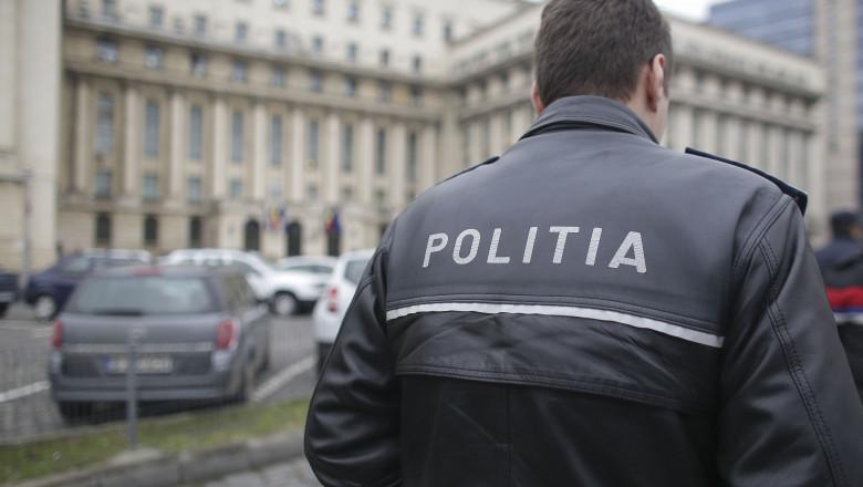 politist in fata MAI