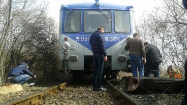 tren deraiat Baia Mare