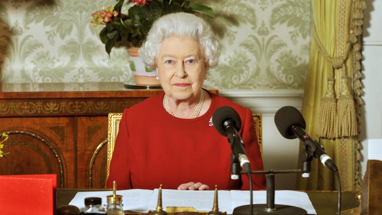 Queen Elizabeth II Records Commonwealth Day Broadcast