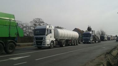 trafic camioane Petea (2)