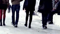 oameni strada trafic persoane