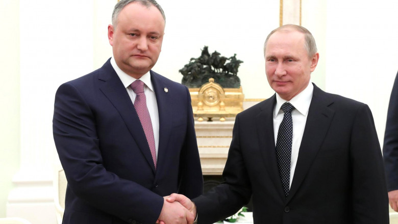 dodon si putin - kremlin.ru